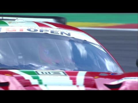 International GTOpen 2017 ROUND 2 BELGIUM - Spa Race 2 ITALIANO