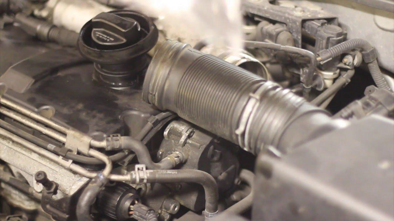 2005 Vw Jetta Fuel Filter Replacing Vw Golf Mk4 Split Vacuum Servo Hose Youtube