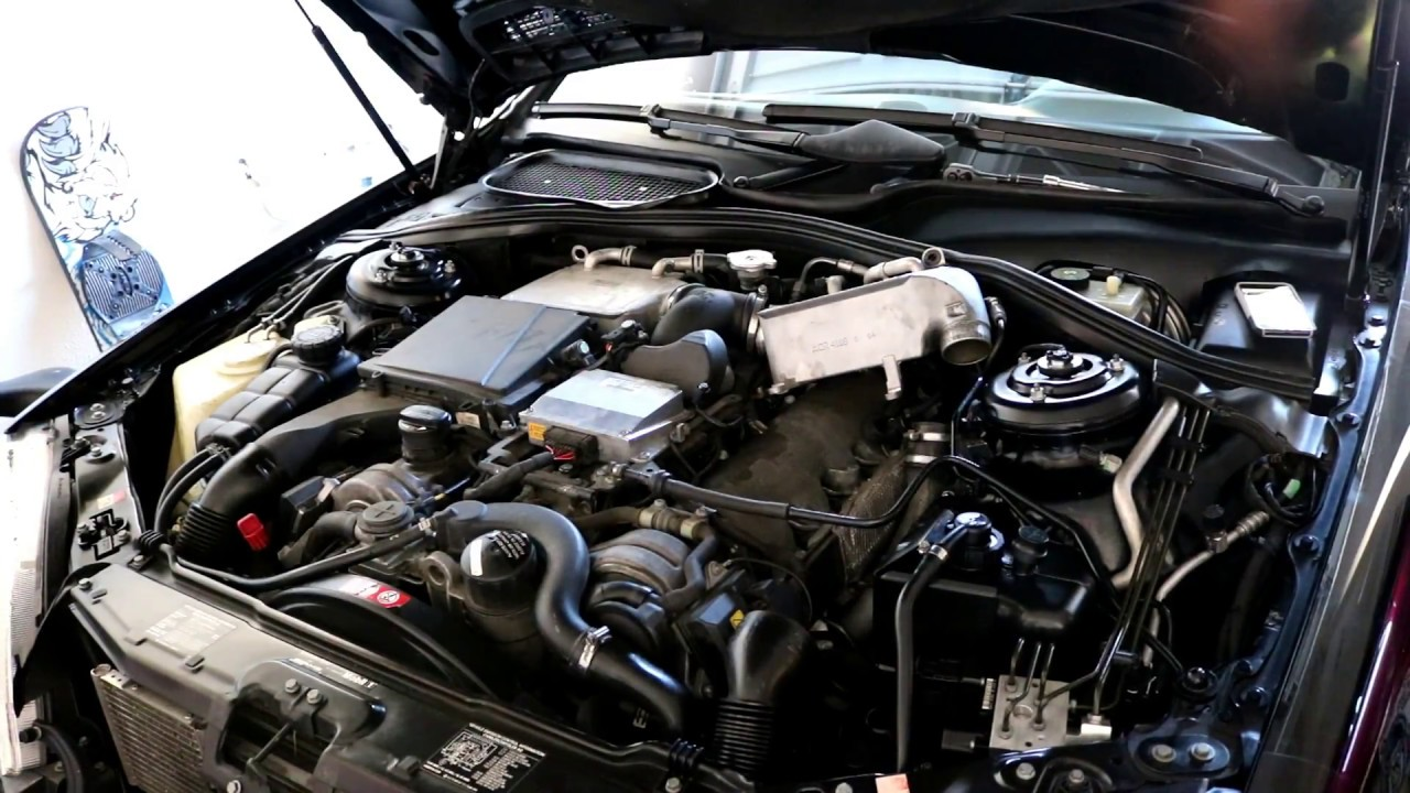 Mercedes S65 Amg Coil Pack Removal M275 Engine