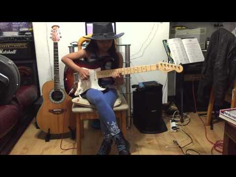 10 yr old Krizten Centino guitar cover of Sweet Home Alabama - Lynyrd Skynyrd