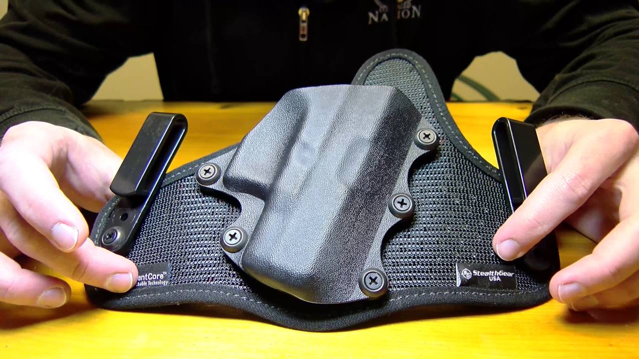 HOLSTER REVIEW] StealthGearUSA ONYX IWB Holster – Concealed