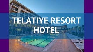 Telatiye Resort Hotel 5 Turciya Alaniya Obzor Otel Telatiue Rezort Hotel 5 Alaniya Video Obzor Youtube