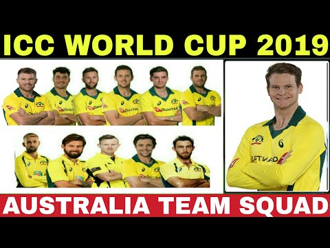 WORLD CUP 2019 AUSTRALIA TEAM SQUAD | AUSTRALIA 20 PLAYERS PREDICTED SQUAD FOR WORLD CUP 2019