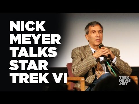 Director, Nicholas Meyer Discusses 'Star Trek VI: The Undiscovered Country'