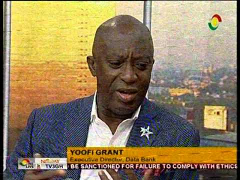 NewDay -  Yoofi Grant uncovered  - 27/4/2016