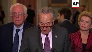 Senate Leaders on Las Vegas Shooting, Puerto Rico