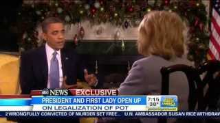 Obama 20/20 Interview: Marijuana Users In Washington And Colorado Not A 'Top Priority'
