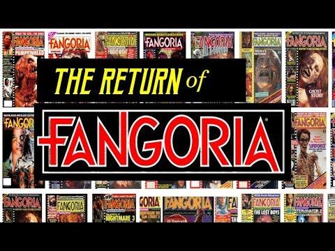 The Return of Fangoria Magazine !!! (Joe Bob Briggs makes a cameo)..