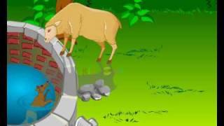 Intelligente Fox | Fox und Schafe | Moralische Geschichten für Kinder | Bedtime stories in Hindi | KidsOne