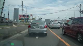 【α7C】仙台市内をドライブ。車載動画。SONY α7C,S…