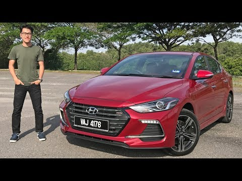 FIRST DRIVE 2017 Hyundai Elantra Sport 1.6 Turbo Malaysian review RM131k