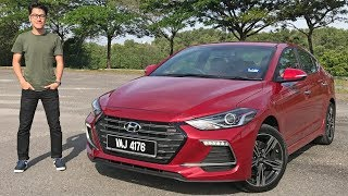 FIRST DRIVE: 2017 Hyundai Elantra Sport 1.6 Turbo Malaysian review – RM131k
