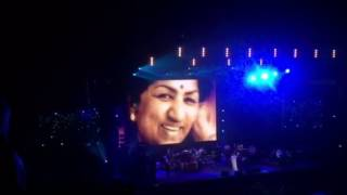 Lag ja galay : Asha Bhosle: SSE ARENA Wembley Farewell Tour UK 18th September, 2016 Tribute to Lata