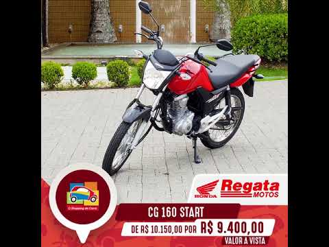 CG 160 Start – Loja Regata Motos | Vale Auto Shopping