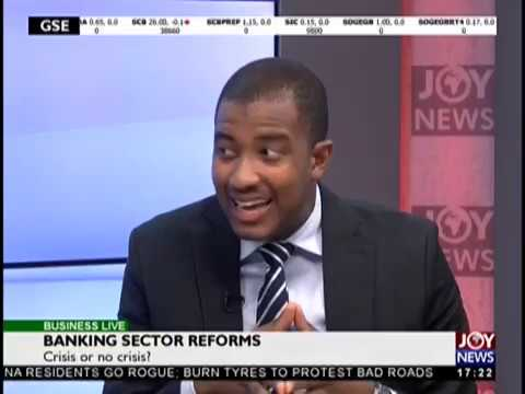 Banking Sector Reforms - Business Live on JoyNews (15-10-18)