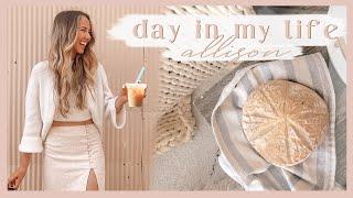 DAYS IN MY LIFE | baking sourdough bread, running errands, & getting work done! ✨