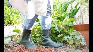 カテバプラス ブーツ型シューズカバー CM #シューズカバー #雨具 #レインブーツ