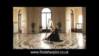 Manchester Wedding Harpist - Watching the Wheat (Bugeilio