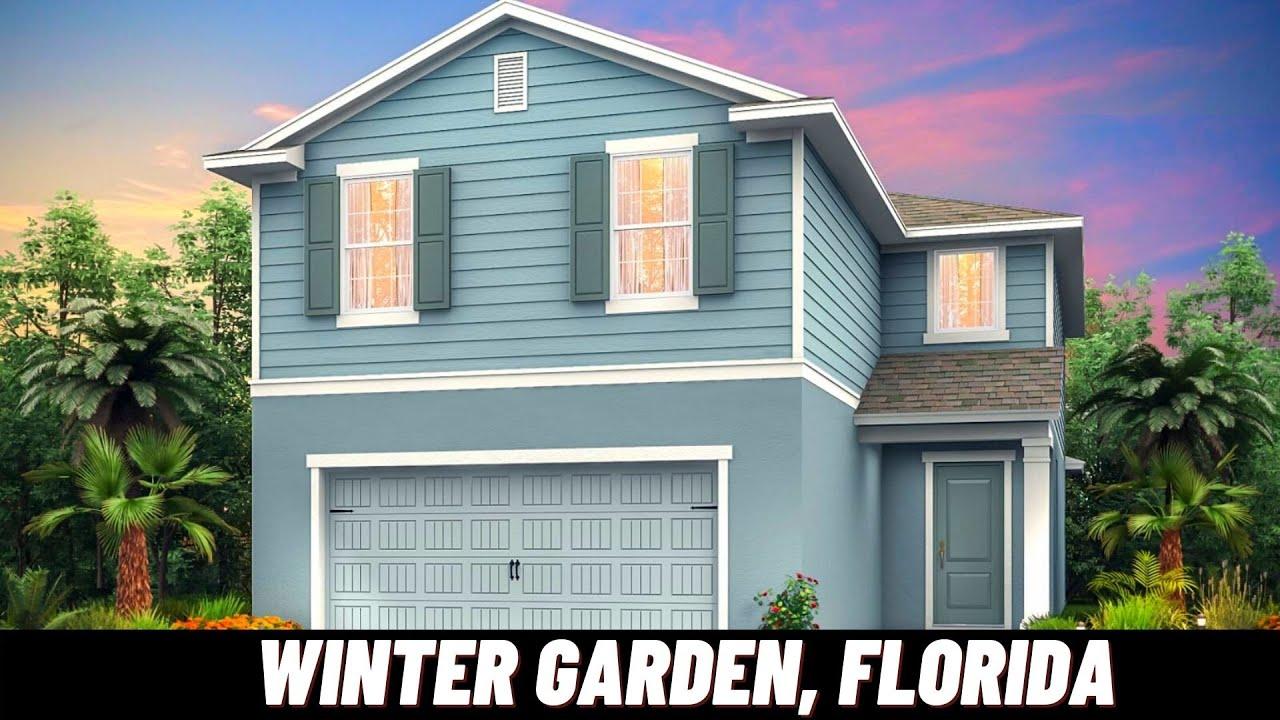 NEW HOMES IN WINTER GARDEN, FLORIDA   Driftwood Model   Jones Group Real Estate