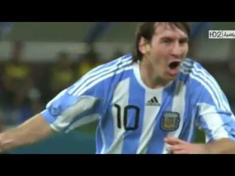 Argentine vs Brazil Missi goal soccer 2014