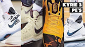 8564d0b7519 Kyrie 3 white and gold finals - YouTube