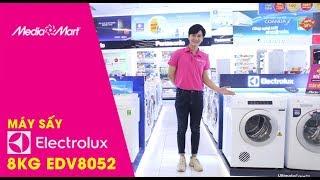 Máy Sấy Quần áo 8Kg Electrolux EDV8052 - Bảo vệ quần áo thơm tho mỗi ngày