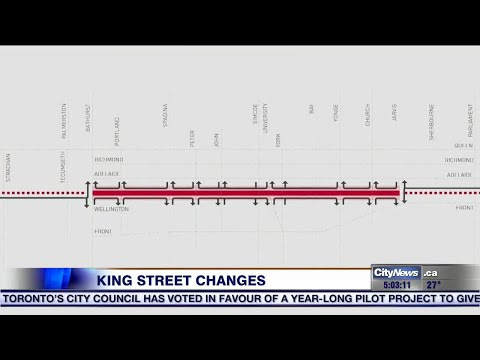 Big changes coming to King Street
