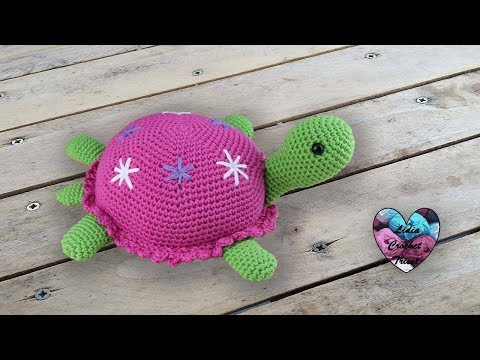Tortue Amigurumi Crochet By Lidia Crochet Tricot Youtube