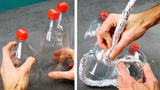 3 halbe Colaflaschen, die deine Deko in den Schatten stellen
