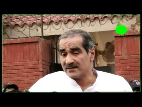 Khawaja Saad Rafique's press conference NA-125 Lahore