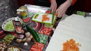 [01] Как приготовить овощную шаурму