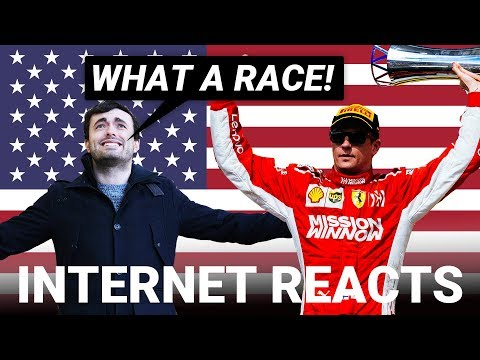 The Internet's Best Reactions To The 2018 USA Grand Prix