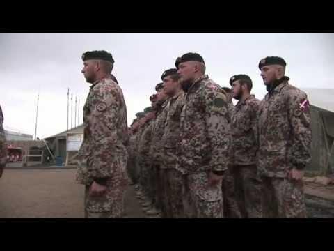 Kommandooverdragelse I Afghanistan Februar 2012
