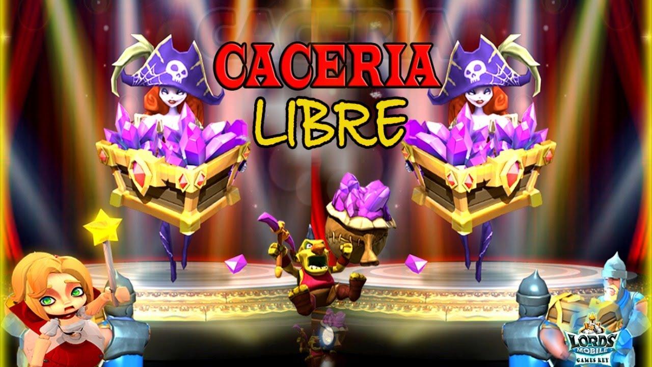 CACERIA LIBRE  // Gremio GmR gogo - Lords Mobile