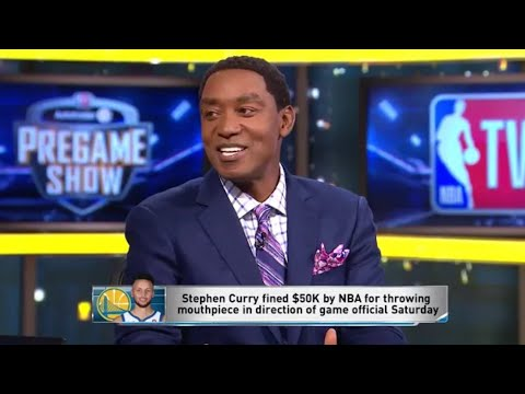 NBA Gametime: Steph Curry Fined 50K!! Isiah Thomas On Are Warriors Falling Apart NEW 10/23
