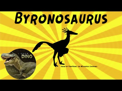 Byronosaurus: Dinosaur of the Day