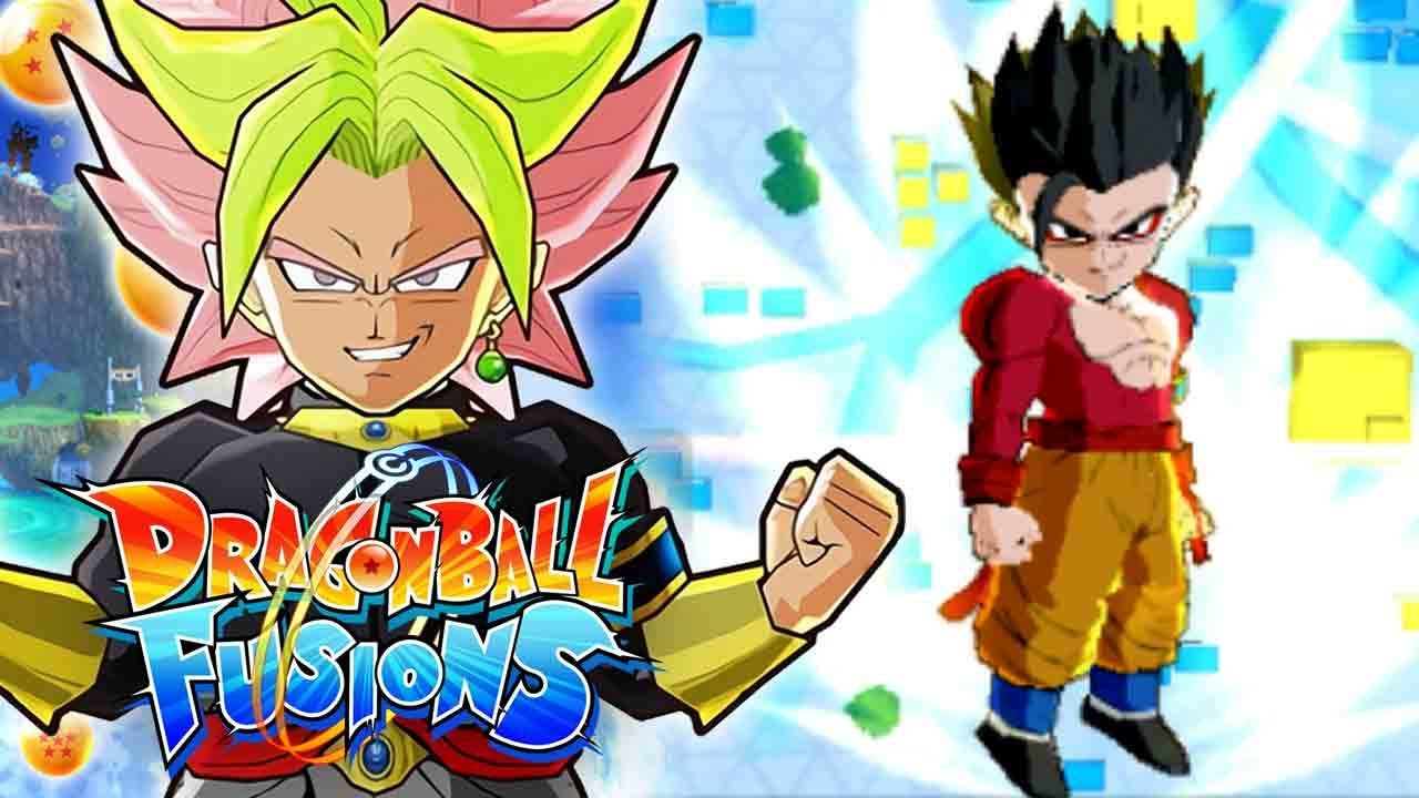 The broken limits of super saiyan 4 gohan dragon ball fusions streetpass fusions gameplay - Dragon ball gohan super saiyan 4 ...