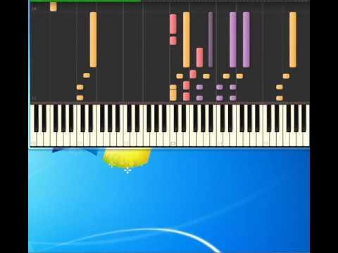 Matthew Wilder   Break My Stride [Piano tutorial by Synthesia]
