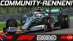 Community Rennen (PC) – F1 2019 Livestream Deutsch | Let's Play Formel 1 Gameplay German