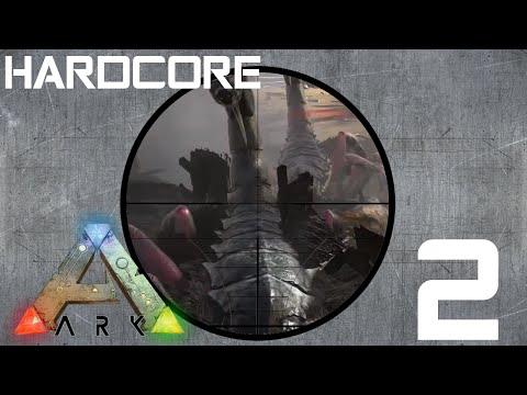 Starting Anew! Hardcore Official Server ARK: Survival Evolved - Episode 2