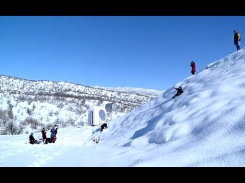 Snow is attracting tourists to the Kurdistan Region