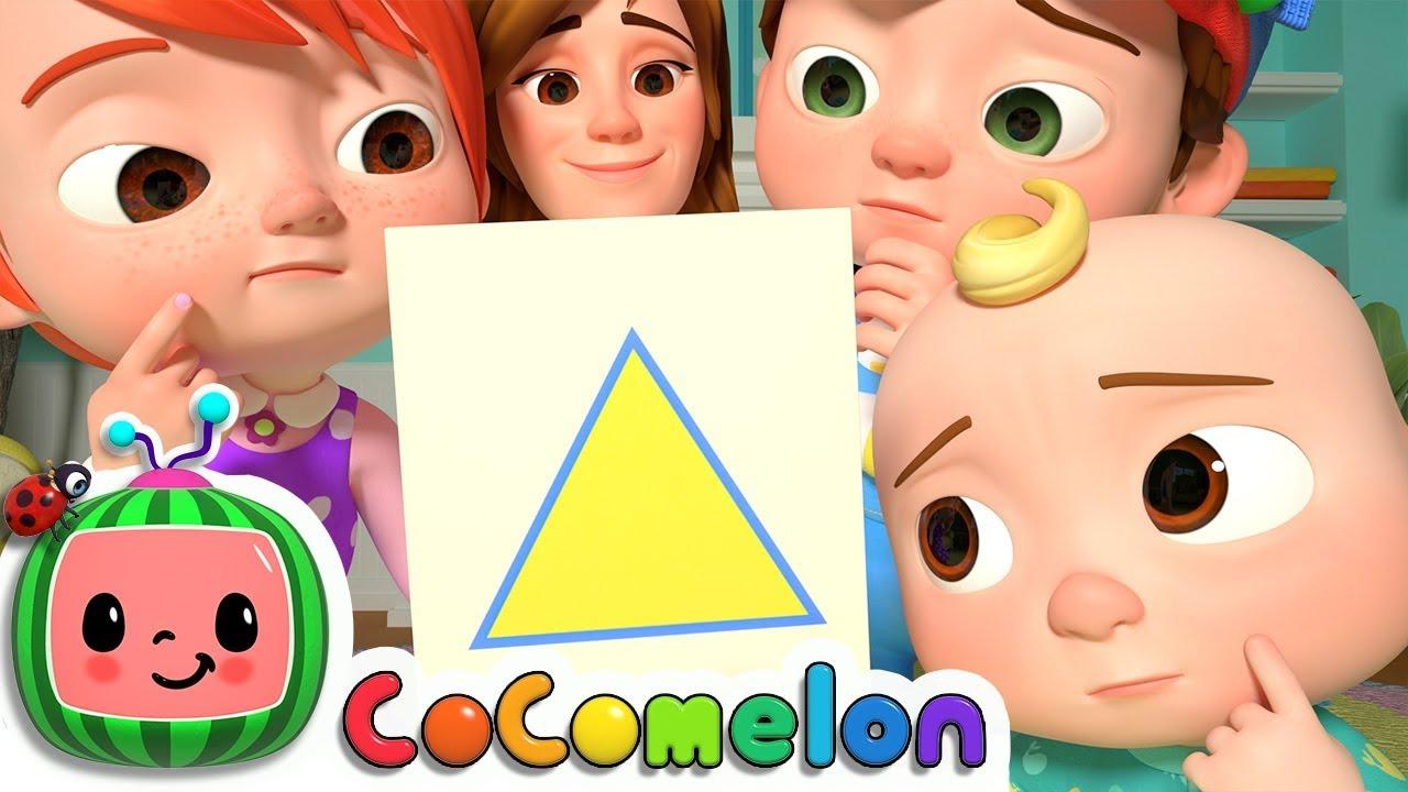 Download Shape Song | CoComelon Nursery Rhymes & Kids Songs