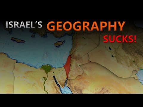 Why Israel's Geography Sucks!   Israel-Palestine Conflict \u0026 Jerusalem Explained Too!   Mint Tree
