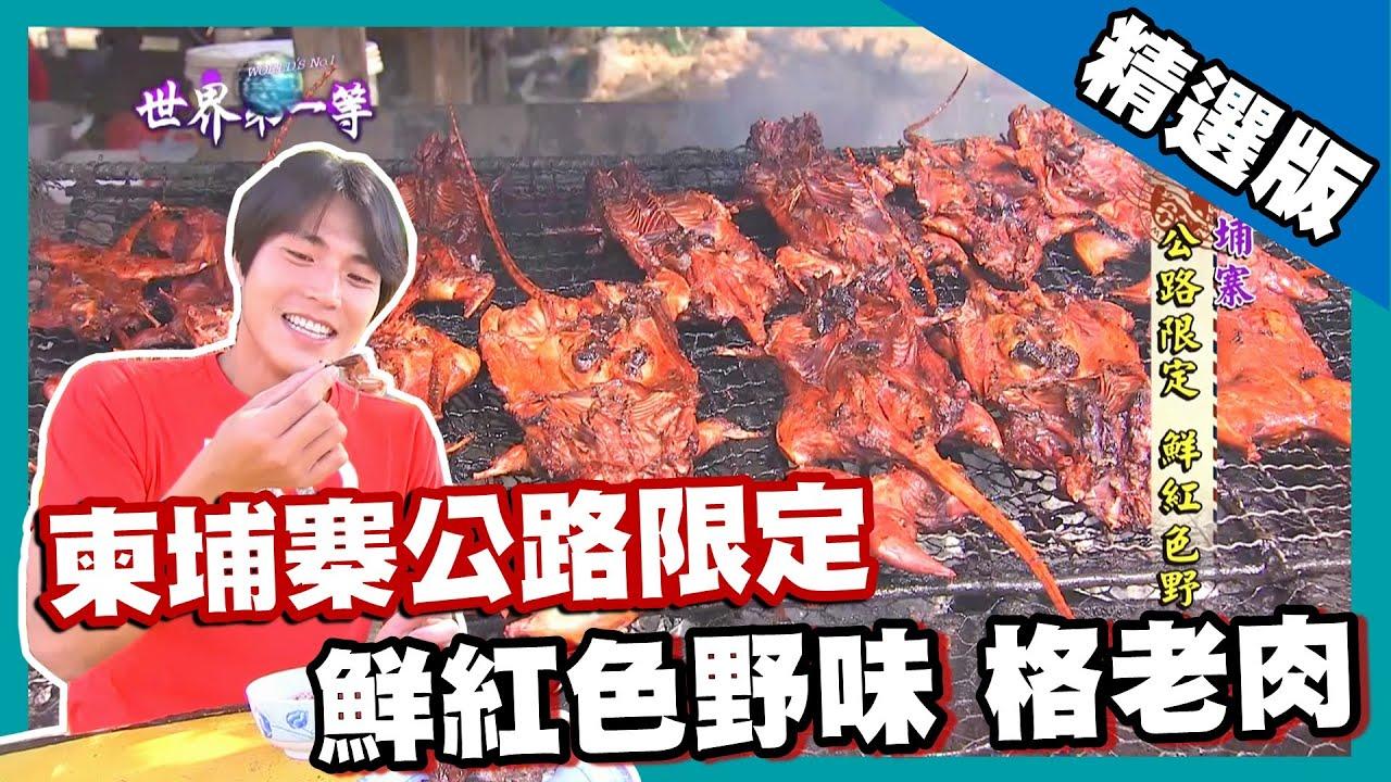 【柬埔寨】暗黑食物烤田鼠 公路限定鮮紅色野味 + 金邊市道地台灣味黃金臭豆腐|《世界第一等》707集精華版