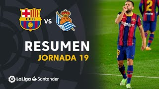 Resumen de FC Barcelona vs Real Sociedad (2-1)