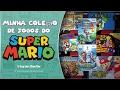 Minha coleção de Jogos do Super Mario