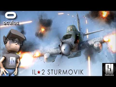 IL2 STURMOVIK VR - COME FLY WITH ME! (With Commentary) | Ocu