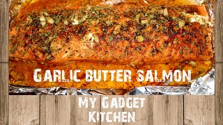 How To: Garlic Buтter Salmon Foil Pack | June Oven | My Gadget Kitchen | #201
