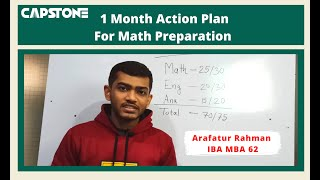 1 Month Action for Math Preparation