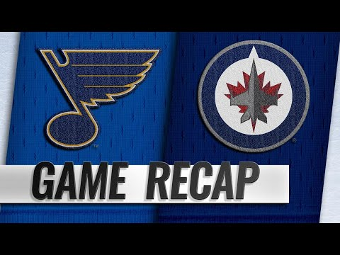 Scheifele, Trouba lift Jets past Blues in OT win